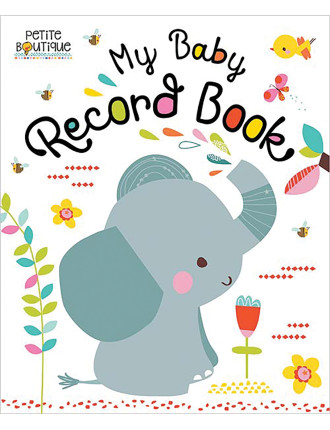 Petite Boutique: My Baby Record Book