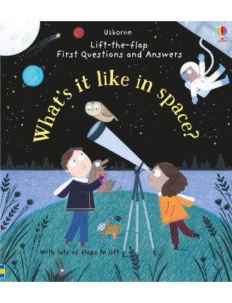 LTF First Q&As: What's it like in Space