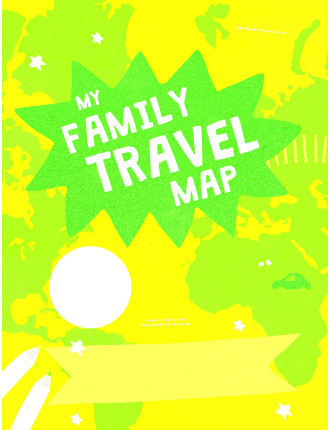 Lonely Planet Kids: My Family Travel Map
