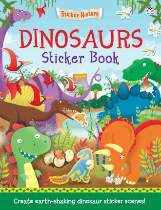 Dinosaurs Sticker Book - Sticker Histories