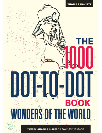 1000 Dot To Dot Book: Wonders Of The World