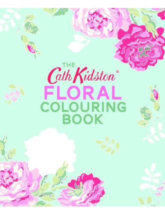 Cath Kidston Floral Colouring Book