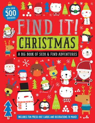 Find It! Christmas Activity Book