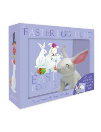 Easter hunt in the hundred acre wood david jones my easter egg hunt boxed set mini book plush 2499 negle Gallery