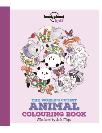 The Worlds Cutest Animal Colouring Book