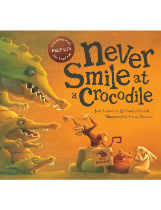 Never Smile At A Crocodile with CD