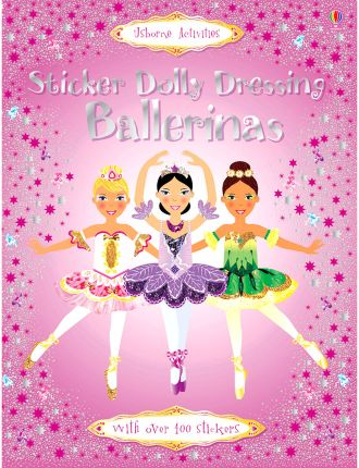 Sticker Dolly Dressing Ballerina