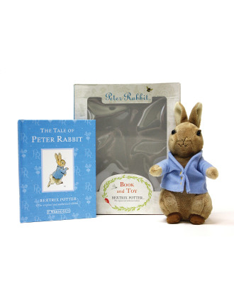 Tale Of Peter Rabbit: Peter Rabbit Book & Toy