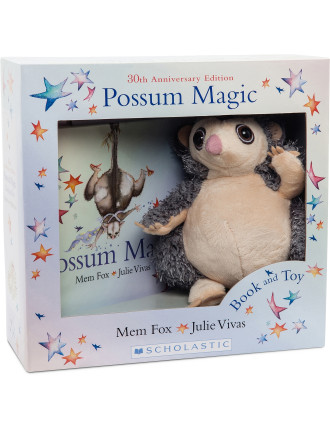 Possum Magic Book & Toy Box Set 30th Anniversary Edition