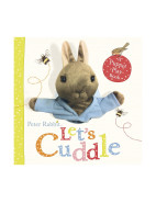 Peter Rabbit Let's Cuddle A Puppet Play Book $15.99