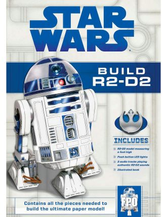 Star Wars: Build R2-D2 Papercraft Kit