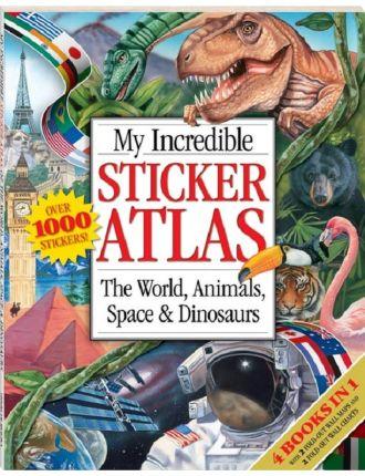 My Incredible Sticker Atlas