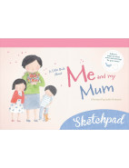Little Book About Me & My Mum Sketchpad $12.95
