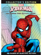 Spider-Man Deluxe Colouring And Activity Book $5.99