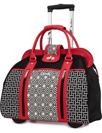 Patchwork Wheel Bag