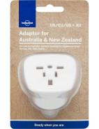 Travel Adaptor,  Australia & New Zealand $12.95
