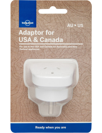 Travel Adaptor,  Usa & Canada