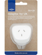 Travel Adaptor ,Uk / Ireland / Singapore / Hong Kong $12.95