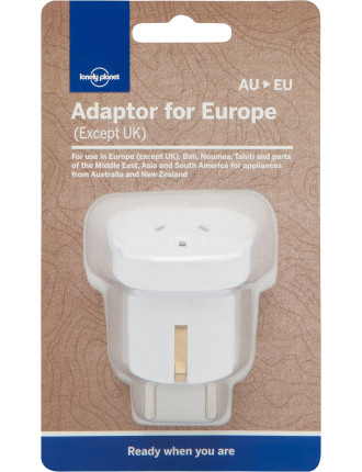 Travel Adaptor ,Europe