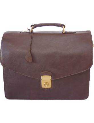 Angus Leather Briefcase