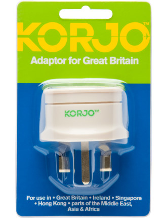 Adaptor Great Britain