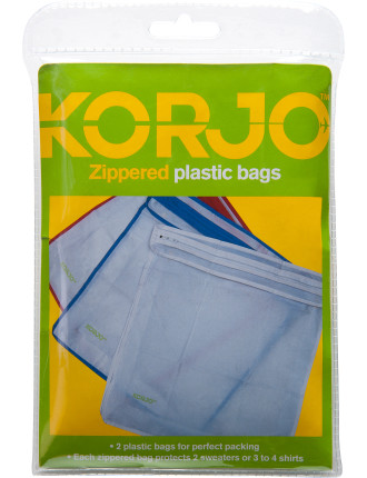 Plastic Bags Zippered