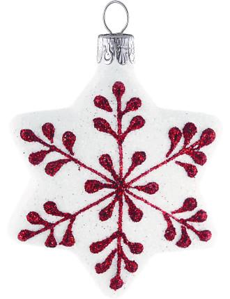 White Start With Snowflake