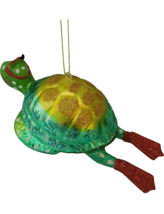 Orn-Glass Diving Turtle Multi