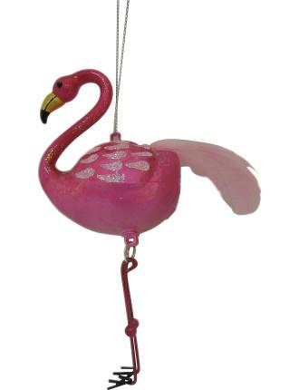 Glass Flamingo Pink Bright