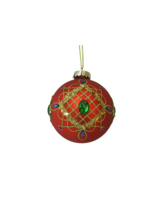 Royal Jewel Ball Red Multi
