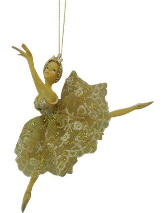 Ballerina Dancer Gold