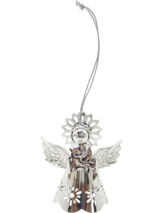 Angel With Dove Silver