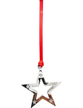 Star Shape Silver