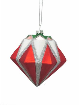 Bauble Xmas Diamond Multi