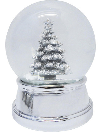 Waterglobe Tree Silver