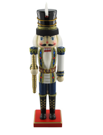 35cm Nutcracker Soldier White