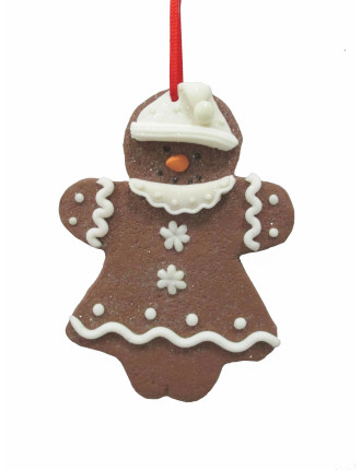Gingerbread Girl Claydough Brown