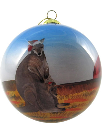 Orn-Bauble Kangaroo Multi
