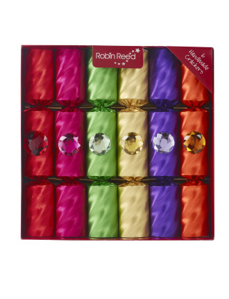 Manhattan Cracker With Embosed Foils And Jewels - 6Pc