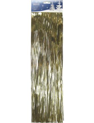 49cm Lametta Tinsel Gold