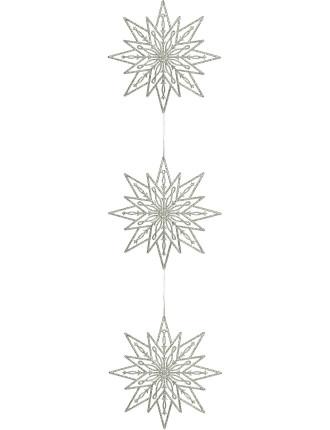 2m Snowflake Chain Silver