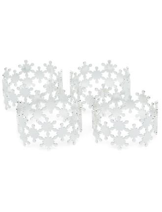 snowflake napkinring