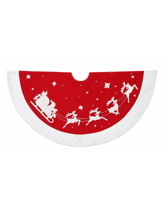 Sleigh Tree Skirt