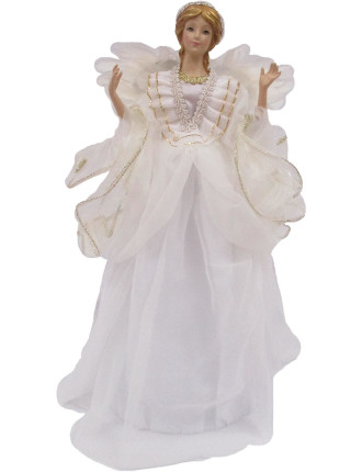 Acc-Tree Topper Holy Angel White