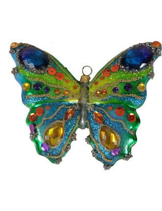 Butterfly Jewels Multi Tree Ornament