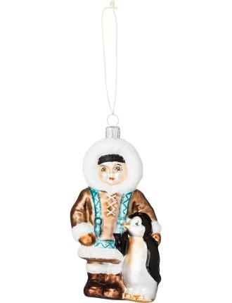 Native Penguin Ornament