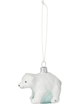 Polar bear baby Ornament