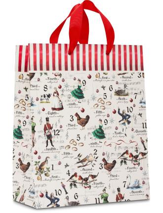 Bag Lge - Traditional 12 Days