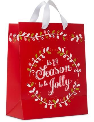 Bag Lge - Kraft Tis The Season