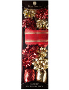 Accessory Pack Red and Gold $4.00